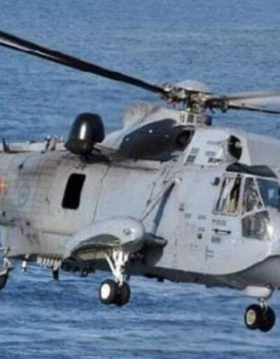 MSB: Düşen Kanada helikopteri için arama başlatıldı