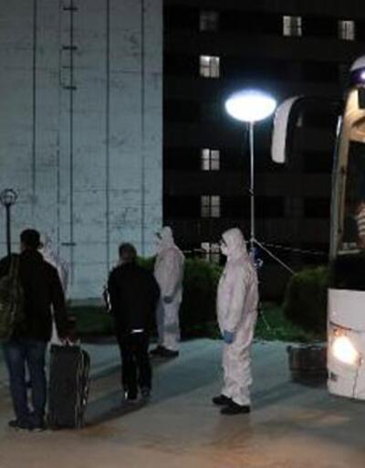 Kuveyt'ten getirilen 99 kişi, Çanakkale'de karantinaya alındı