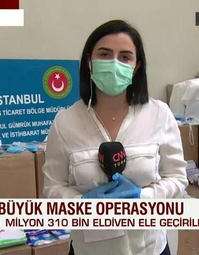 İstanbul'da büyük maske operasyonu