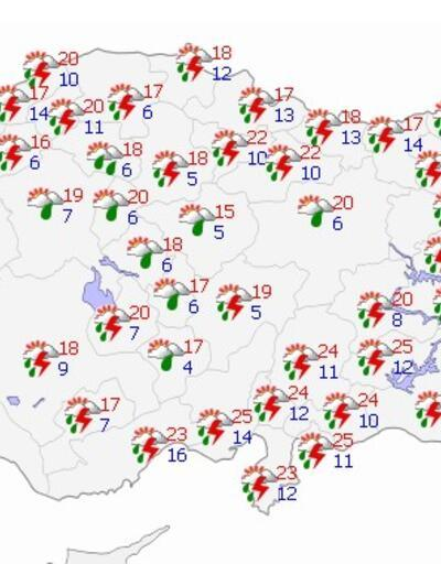 Hava durumu hafta boyunca nasıl olacak? İşte yurt geneli hava durumu tahminleri