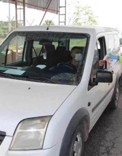 Silopi'de sürücülere 'Trafik Haftası' bilgilendirilmesi