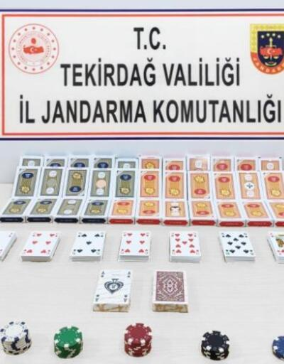 Kumar operasyonunda 15 kişiye 68 bin lira ceza kesildi