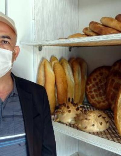 Korona virüsü şeklinde ekmek üretti
