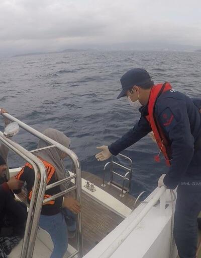 Yunanistan sığınmacıları Türk kara sularına itti