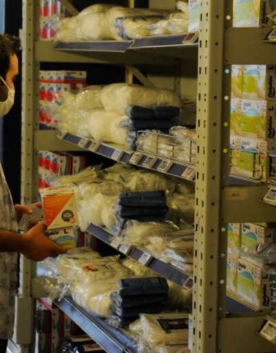 Marketlerde cerrahi maske satışları başladı