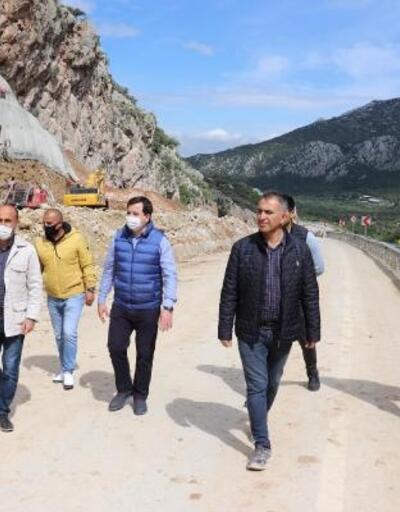 Korkuteli- Antalya yolu açılıyor