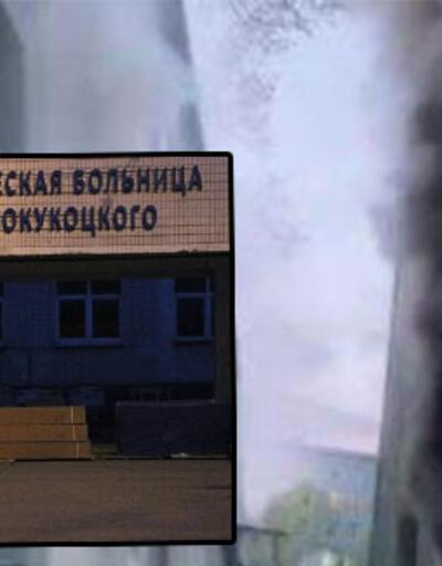Rusya'da korona vakalarının olduğu hastanede yangın