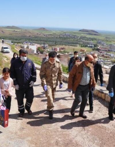 Mardin'de şehit ailelerine Anneler Günü ziyareti