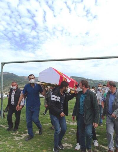 Kadıköy'deki kazada hayatını kaybeden itfaiye eri Kütahya'da toprağa verildi