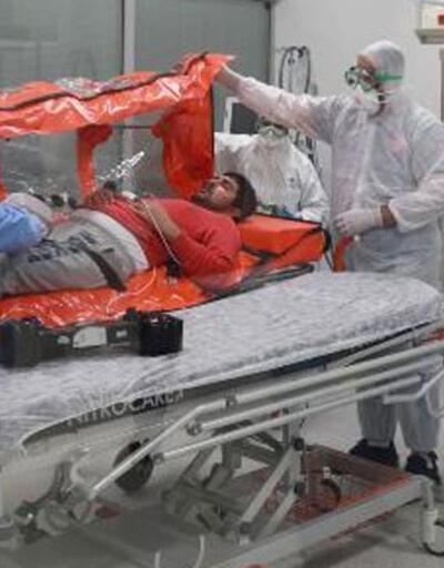 İsveç'ten getirilen Türk hasta taburcu oldu