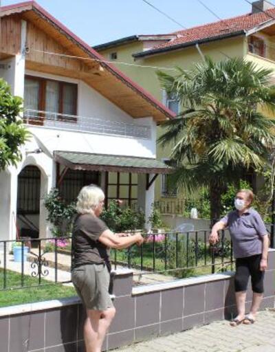 Yazlıkçılar salgın korkusuyla evlerine kapandı