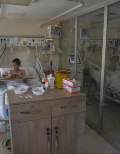 Yangın sebebiyle hastaneye gittiler, korona olduklarını öğrendiler