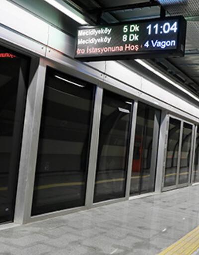 Mecidiyeköy-Mahmutbey Metro Hattı'nın açılışı ertelendi