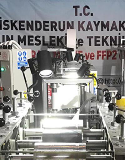 MEB, N95 maske makinesi üretti