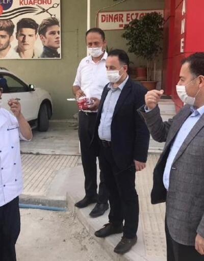Dinar'da koronavirüs toplantısı