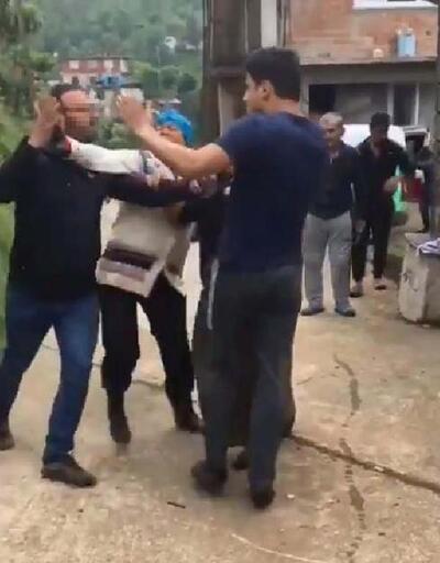 Mahallede köpek istemeyen karı-koca akrabasına saldırdı