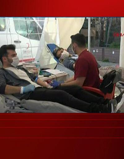 Kan bağışı çağrısı karşılık buldu