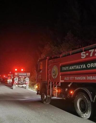 Gazipaşa'da 3 ayrı yangın