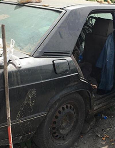 Evsiz adam hurda otomobilin içinde ölü bulundu