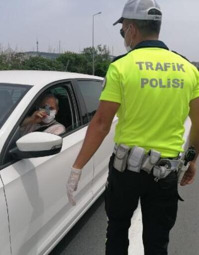 İstanbul trafiğinde 207 noktada koronavirüs denetimi