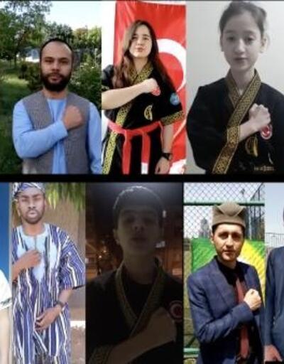 Alpagut sporu, 19 Mayıs için dünya gençlerini klipte buluşturdu