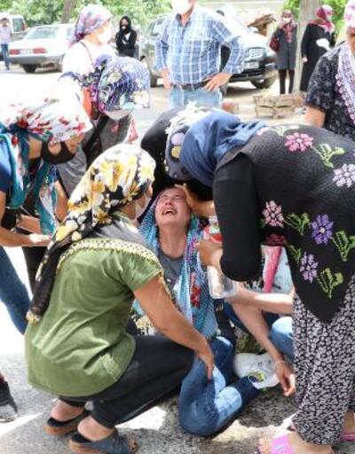 Kocasının kızının gözü önünde öldürdüğü kadın gözyaşlarıyla toprağa verildi