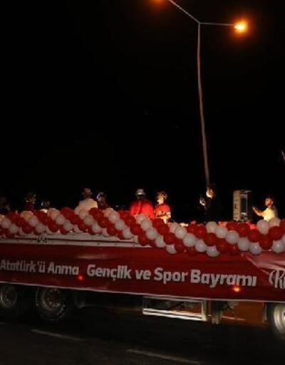 İncesu'da coşkulu 19 Mayıs kutlaması