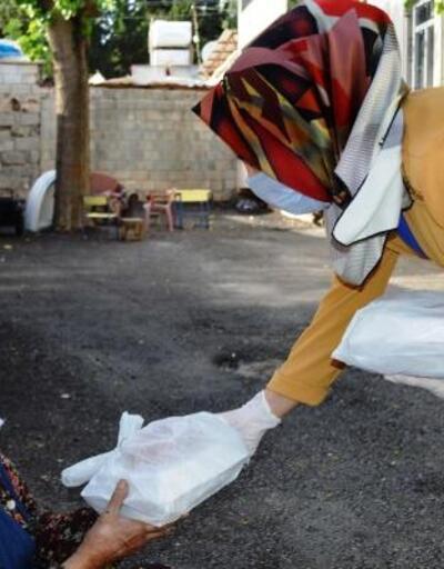 Adıyaman'da hazırlanan yemekler 500 aileye dağıtıldı