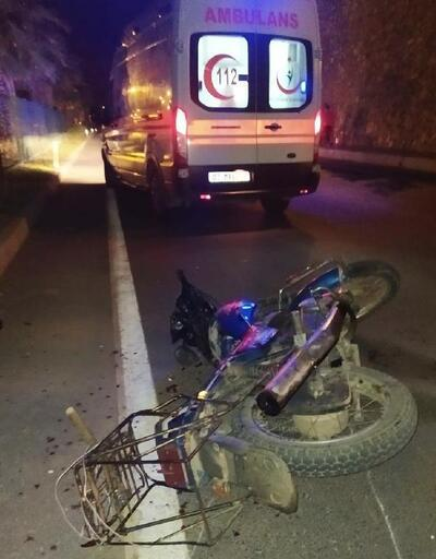 Gazipaşa'da motosiklet kazası: 1 yaralı