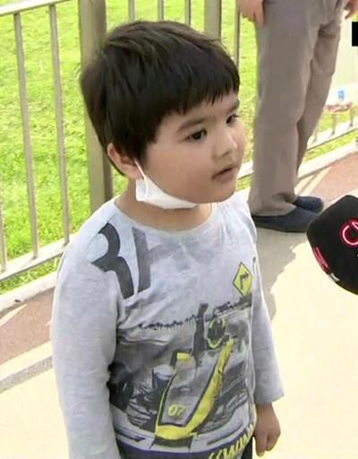 Sokak izni biten çocuk Fulya Öztürk'ü kahkahaya boğdu