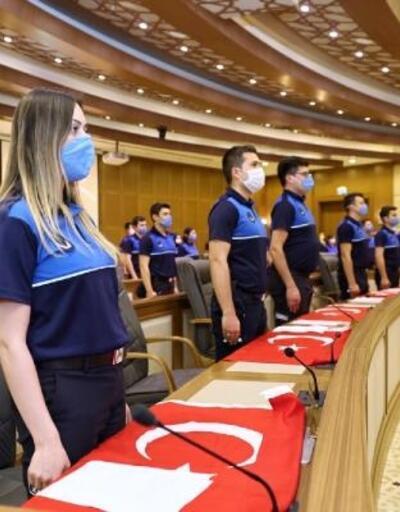 Bursa Büyükşehir Belediyesi'nde yeni memurlar yemin etti