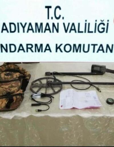Adıyaman'da izinsiz kazı yapan 3 kişi gözaltına alındı
