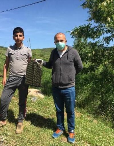 Köy köy dolaşıp öğrencilere test dağıttılar
