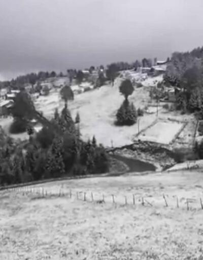 Mayısta kar sürprizi