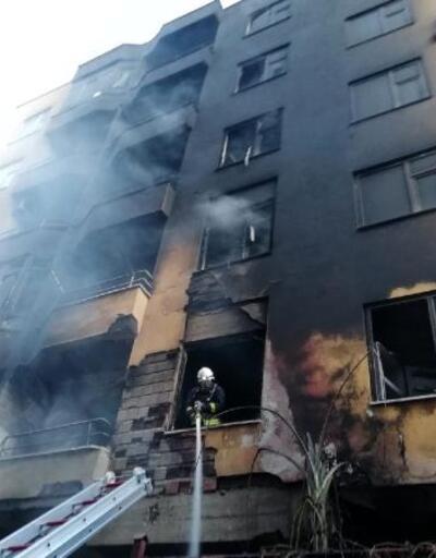 Alanya'da ev yangını