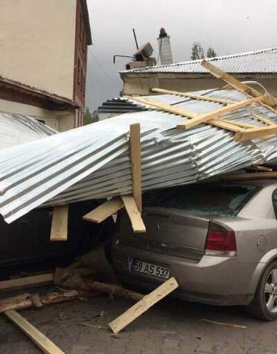 Türkiye'nin doğusunu fırtına vurdu