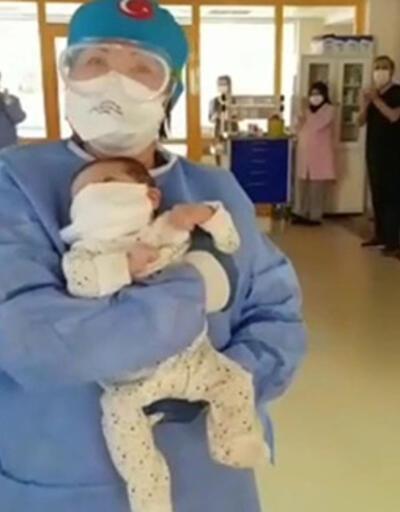 Bursa'da 45 günlük bebek koronavirüsü yendi