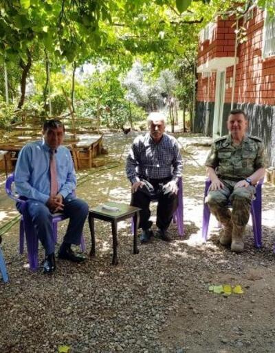 Albay Sancaktar'dan, şehit aileleri ve gazilere bayram ziyareti