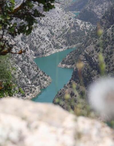 Hayran bırakan güzellik İnceğiz Kanyonu'nda sessizlik