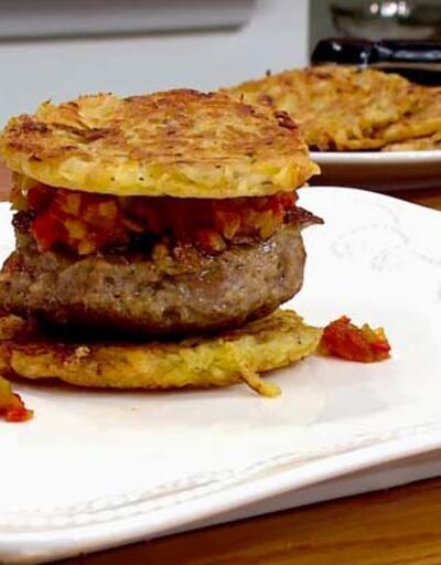 Chipotle soslu patates burger tarifi