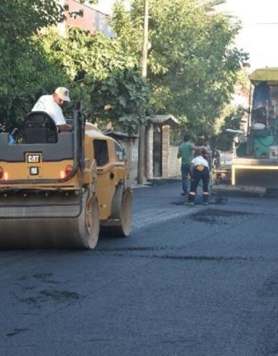 Küçük Kırım'a ilk asfalt döküldü