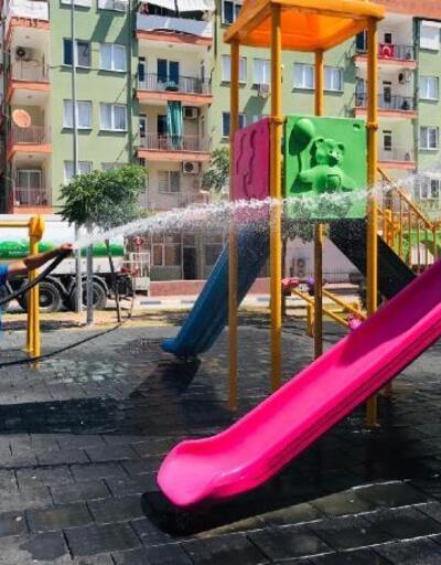 Büyükşehir'den Demre'de genel temizlik ve bakım