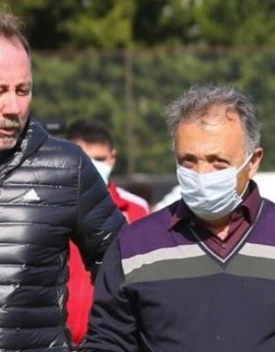 Ahmet Nur Çebi takımı ziyaret etti