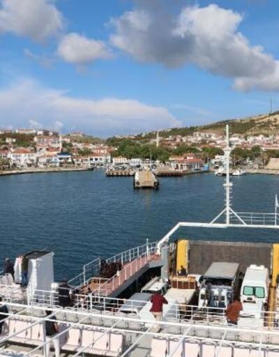 Bozcaada'ya feribot seferleri, 3 güne çıkarıldı