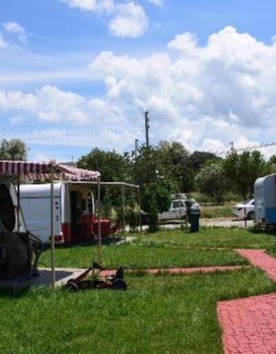Doğanın içinde 'karavan otel'de tatile yoğun talep