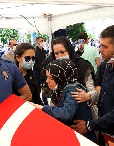 Şehit polis memuru Atakan Arslan son yolculuğuna uğurlandı