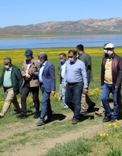Vali Bilmez'den korunacak alan ilan edilen KeşişGölü'nde inceleme