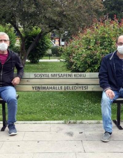 Koronavirüse karşı 'sosyal mesafeli' bank