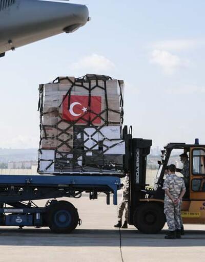 Türkiye'den bir ülkeye daha tıbbi yardım
