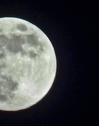 'Süper Ay' böyle görüntülendi